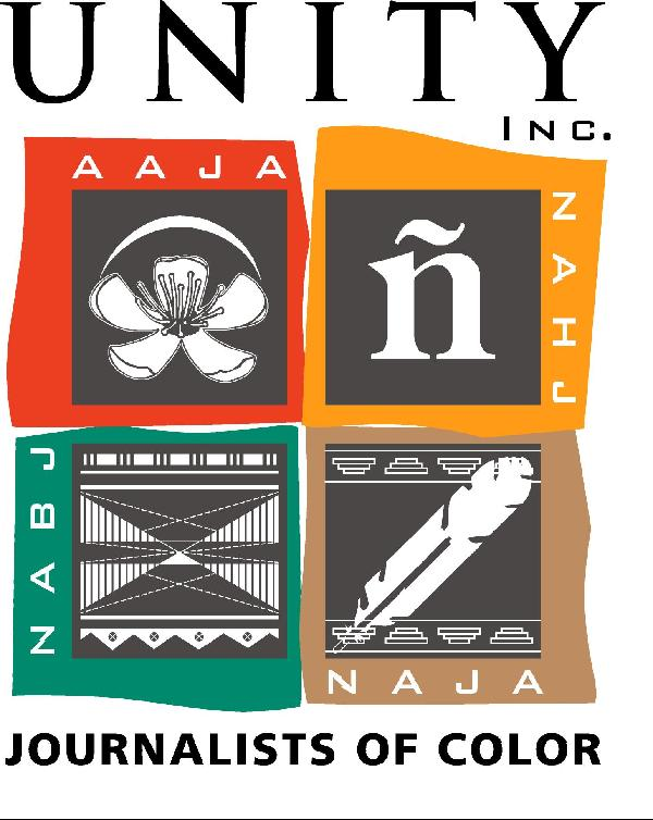 UNITY - Journalists of Color logo