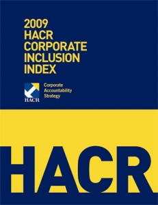 2009 Corporate Inclusion Index Cover