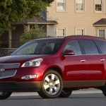 The 2010 Chevrolet Traverse has been selected as the Papimobile for the epic family roadtrip