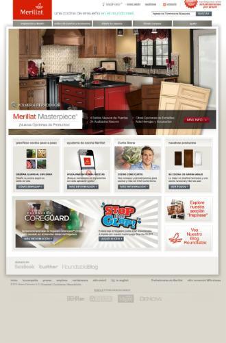 MERILLAT-SPANISH-WEBSITE
