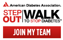 STEP OUT to help stop Diabetes