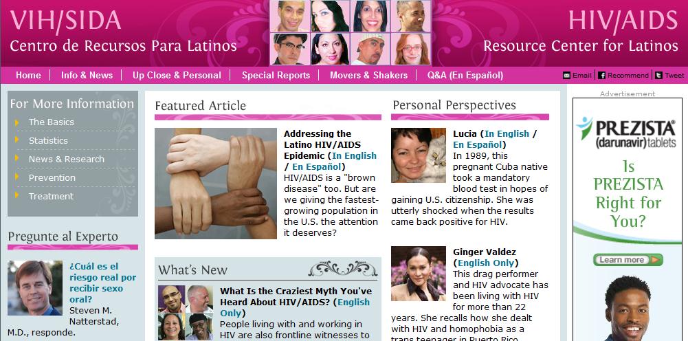 hiv latinos