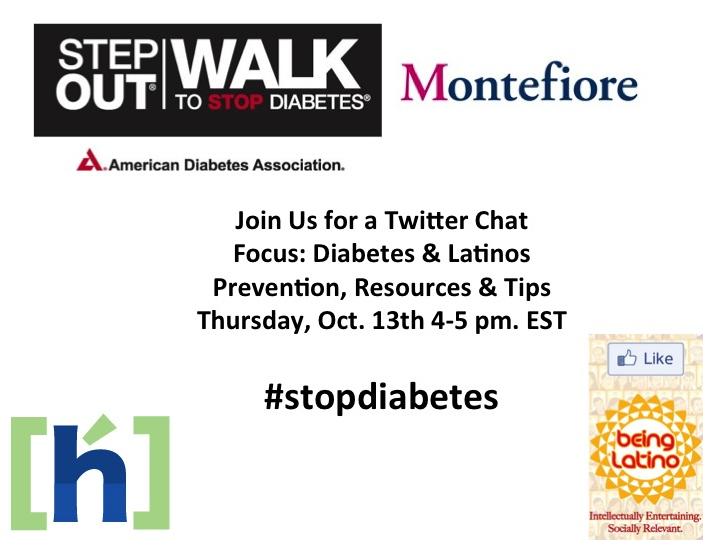 Latinos & Diabetes Tweet Chat #STOPdiabetes