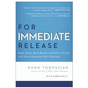 """For Immediate Release"" Defines the New Rules of Public Relations [NEW BOOK]"