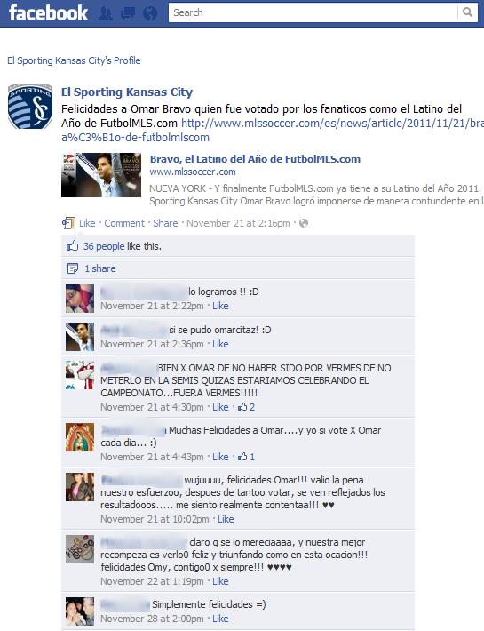 El Sporting KC: Focus on Social Media (Part 2 of 2)