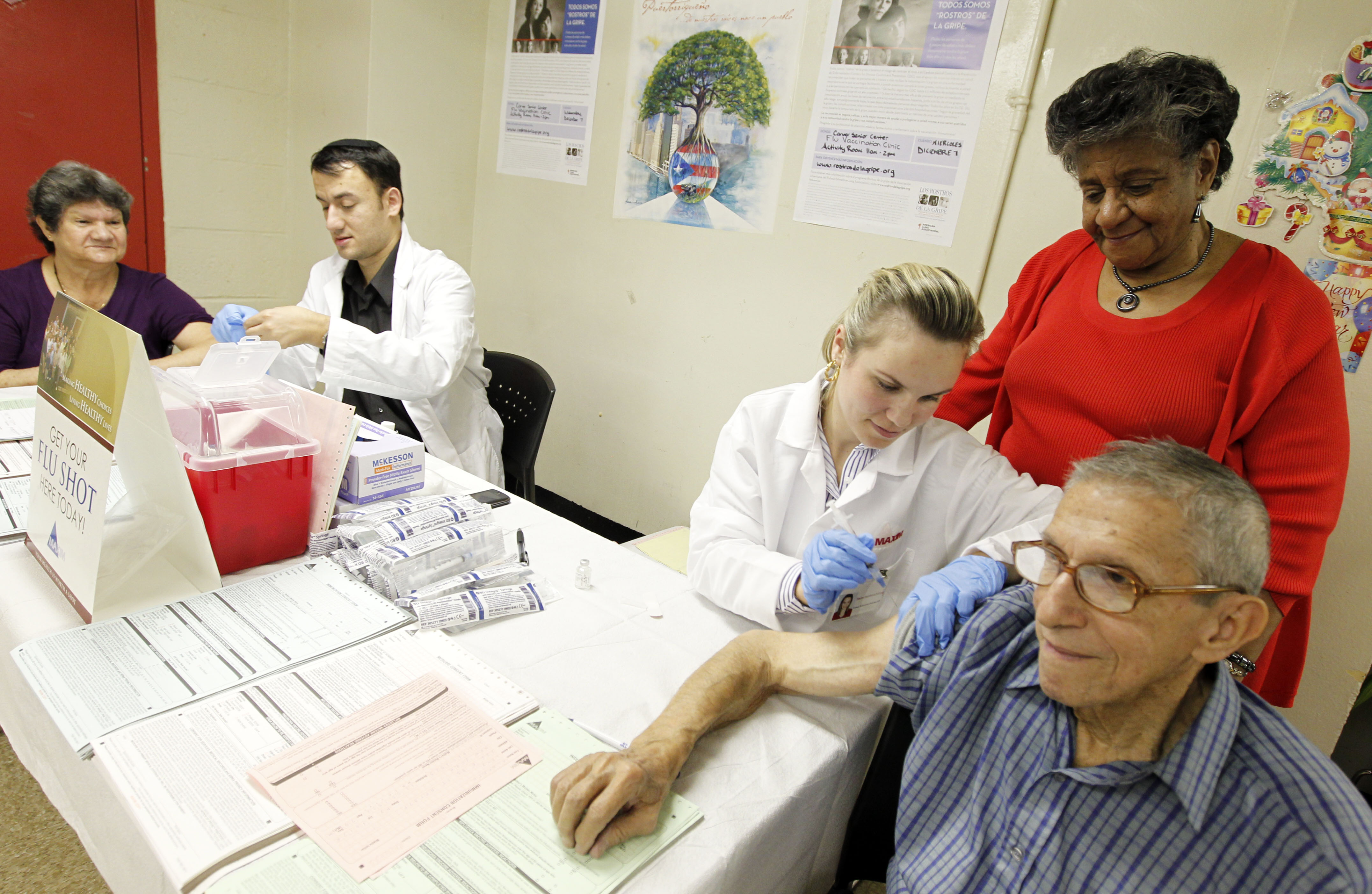"The Carver Senior Center Teams Up with ""Los Rostros de la Gripe"" Campaign to Fight Influenza"