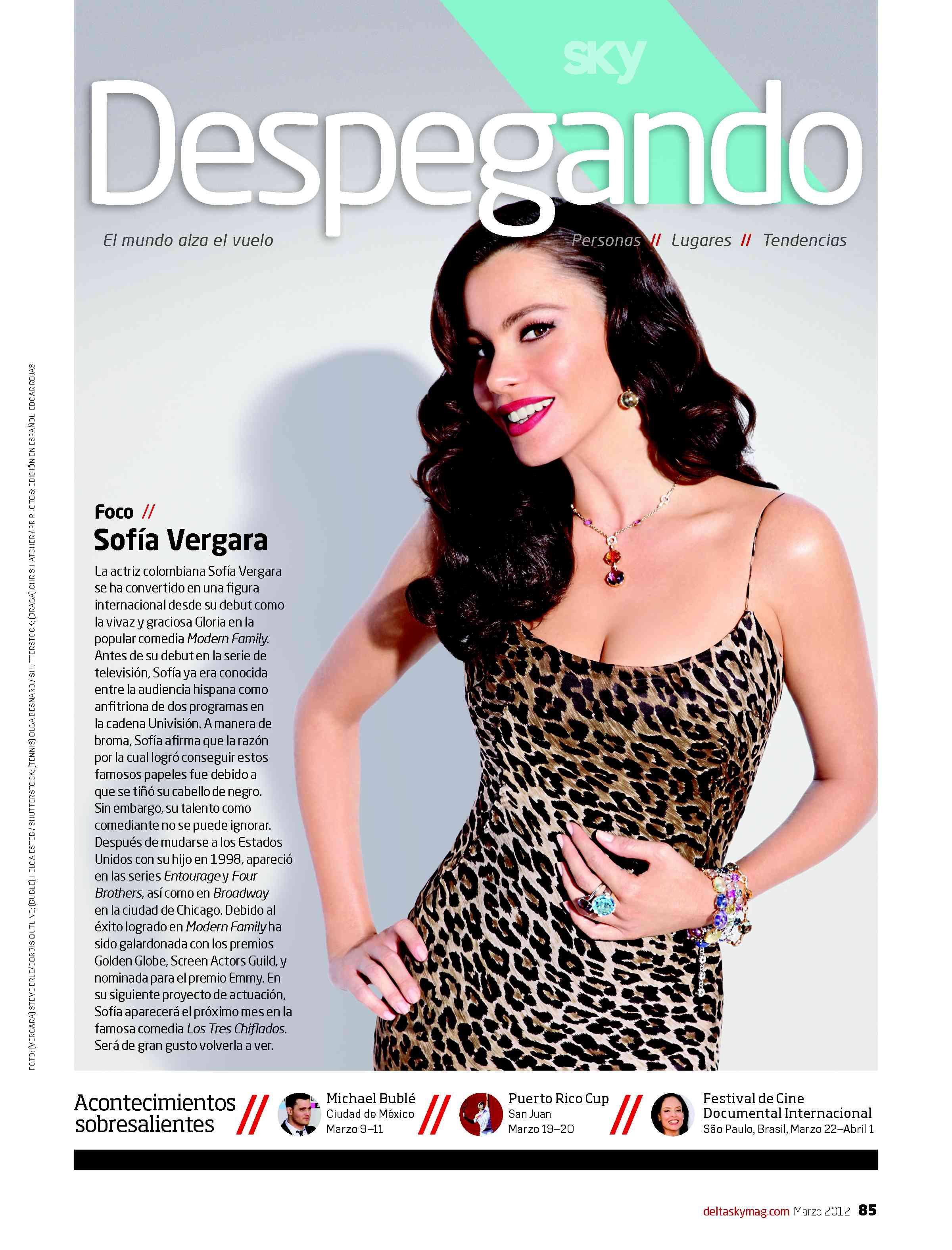 Despegando Takes Off in Delta's SKY Magazine