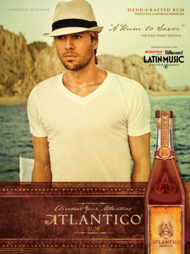 Enrique Iglesias Presents ATLANTICO Rum at the 2012 Billboard Latin Music Conference & Awards Presented by State Farm