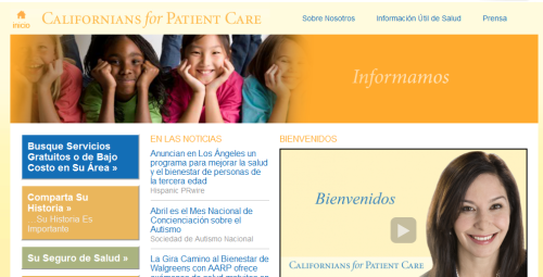 Californians for Patient Care Launches Spanish-Language Healthcare Resource