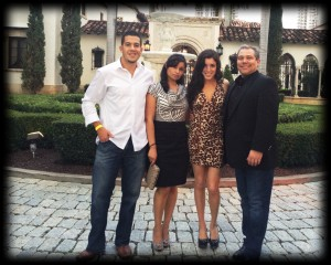 Hispanicize party held at a mansion on the bay