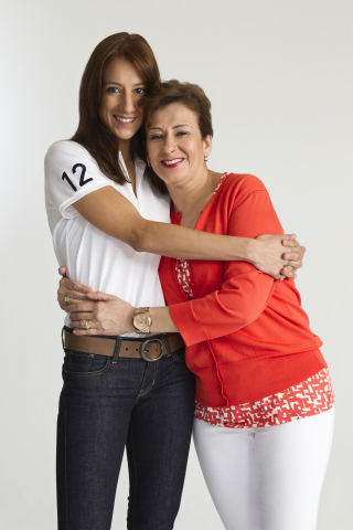 "Olympic Taekwondo athlete Diana Lopez, a spokesperson for P&G-owned program Orgullosa, celebrates her mother Ondina Lopez for being a woman with ""la falda bien puesta(TM)."" (Photo: Business Wire)"