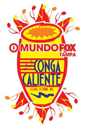 MundoFox Tampa Conga Caliente 2014 Logo