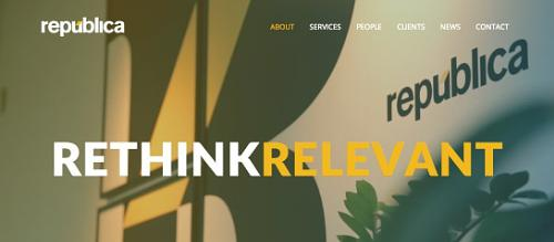 Republica SOY website