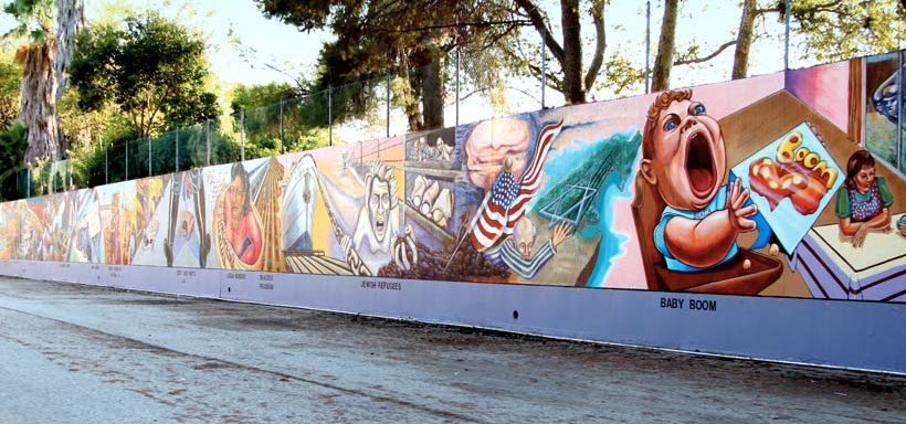 Blue Moon Brewing partners with L.A. artist to create Hispanic-themed mural