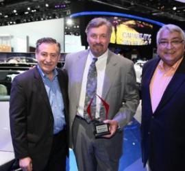 Hyundai Genesis named Best Luxury Car, best for Latino families, at Hispanic Motor Press Awards