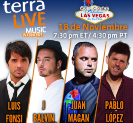 """Terra Live Music"" 2014 series to end with four-artist concert in Las Vegas"