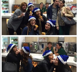 STORY & PHOTO RECAP: Highlights & Other Crazy Moments from the 1st Annual Hispanicize Miami Holiday Scavenger Hunt #BlueSanta