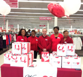 Burlington Stores and The National Coalition for Women with Heart Disease team up for Heart of Fitness Tour