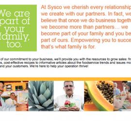 Sysco launches Sobremesa, a dual-language mobile site for Hispanic food service segment