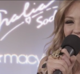 Thalia becomes first fashion designer to launch collection via Facebook streaming
