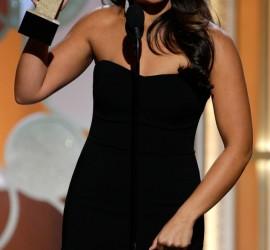 """Jane the Virgin"" star Gina Rodriguez mentions Hispanic culture during Golden Globes speech"