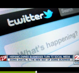 More Hispanic-owned businesses are taking up social media, study says