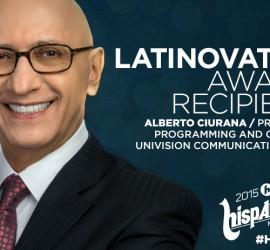 Alberto Ciurana, head of programming at Univision, to be recognized with Latinovator Award at Hispanicize 2015