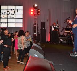 Gilberto Santa Rosa kicks off the2015AARP Life @50+ celebrations