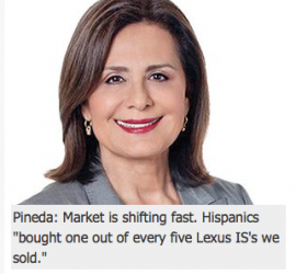 Automakers Intensify their pursuit of Hispanic car buyers