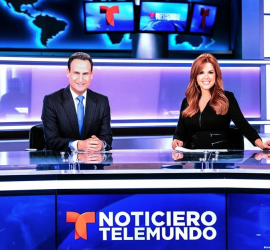 Telemundo sets record: Will be the first network to produce a newscast entirely with mobile devices