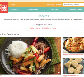 General Mills Re-launches QueRicaVida.com