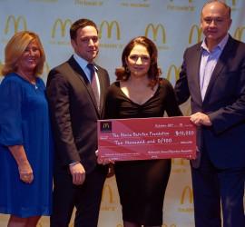 RECAP: Gloria Estefan & NY Metro McDonald's give back to the community