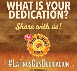 Honey Bunches of Oats and Latin GRAMMYS to donate meals for each Tweet with #LatinosConDedicacion