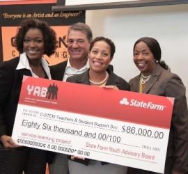 State Farm Youth Advisory Board awards $86K to research STEM program gaps