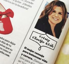 Los Tweens founder Clavijo-Kish offers parenting advice in Ser Padres magazine