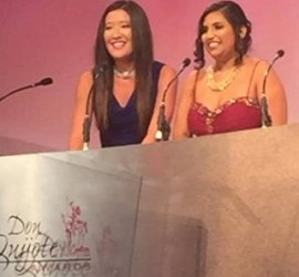 Chatter Buzz named Hispanic Business of the Year at Don Quijote Awards