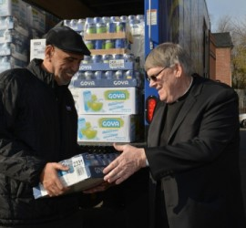 Goya donates 50,000 pounds of food to Catholic Charities for people in need