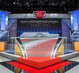 ESPN Deportes debuts its new four-studio production facility in Mexico City with SportsCenter
