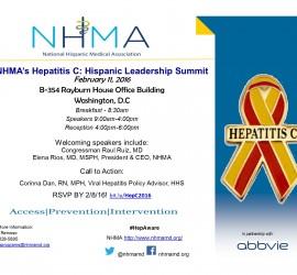 National Hispanic Medical Association to hold summit on Hepatitis C