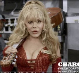 CHARO stars in Burger King internal training video as they introduce new Grilled Dogs