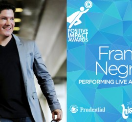 Salsa sensation Frankie Negrón to headline Hispanicize 2016 third annual Positive Impact Awards