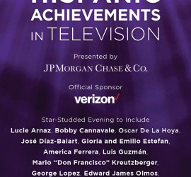 The Paley Center for Media announces a Tribute to Hispanic achievements in television, presented by JPMorgan Chase & Co.