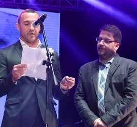 Pope Francis honored by NBCUniversal Telemundo Enterprises and the Hispanicize 2016 National Advisory Board with the first-ever 'Telemundo Innovation Award' at the second annual Tecla Awards