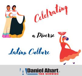 Daniel Ahart Tax Service Shares the Hispanic Heritage Month Calendar