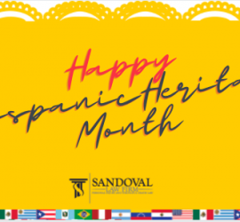 Sandoval Law Firm Shares the Hispanic Heritage Month Calendar in Texas